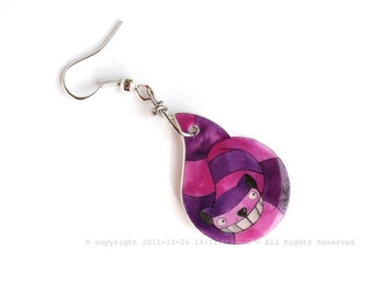 Earrings Cheshire Cat
