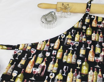 Wine Country Adult Apron