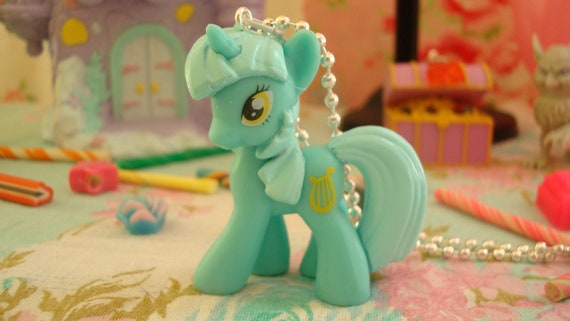 My Little Pony Lyra Heartstrings Assembled Kawaii Necklace or cell phone charm you choose
