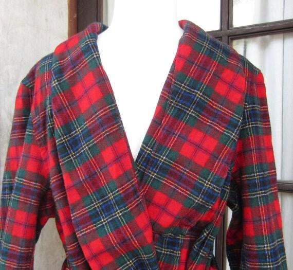 MacLean Tartan Pendleton Robe