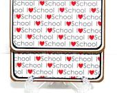 CLEARANCE-Gift Card Holder, Gift Card Envelope, Gift Card Box, Money Holder- I Love School