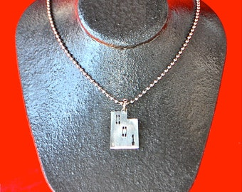 The Utah 801 pedant necklace.