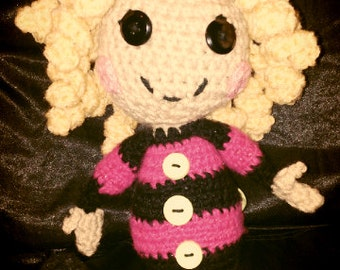 Crocheted Sleepy Time Doll
