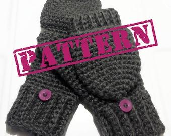 Glittens/ Convertible Mittens Pattern