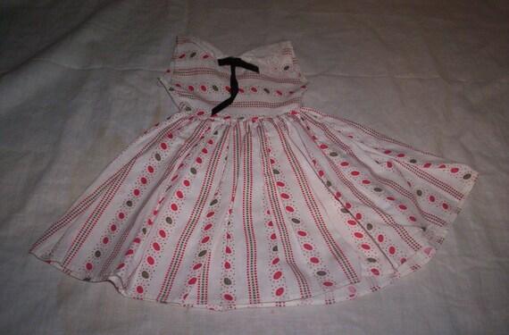 vintage infants baby girls dress lg doll clothes