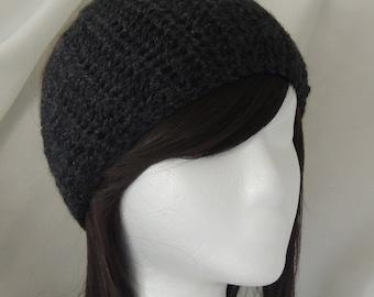 Dark Grey Headband / Earwarmer / Calorimetry