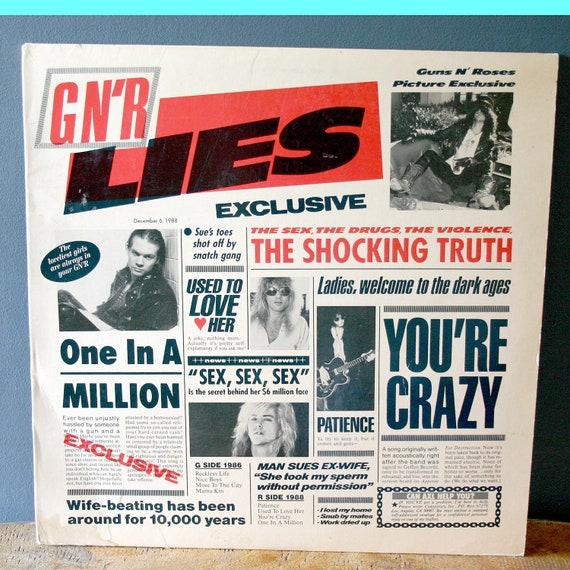 Guns N Roses Vinyl Record