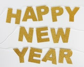 Happy New Year Banner - Soft Foam - As Seen In Wine Country Weddings Magazine - JaneeLookerse
