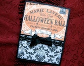Gothic Halloween Greeting Card - Marie Laveau's Halloween Ball
