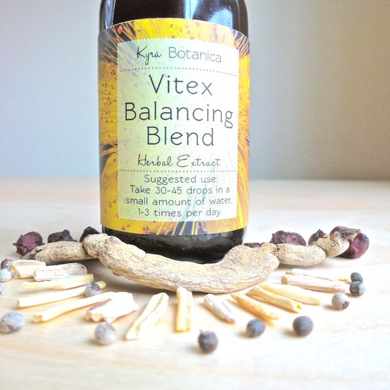 Vitex Balncing Woman's Adaptogen Blend, Strengthening and Balancing Herbal Tincture, 2 oz Herbal Extract