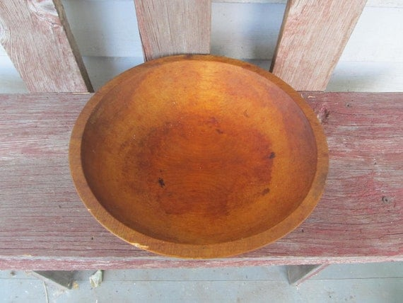 Sale FREE Shipping Primitive antique wood bowl