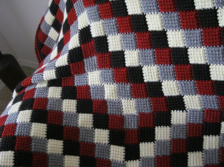 Rose Crochet Pattern Free Blanket