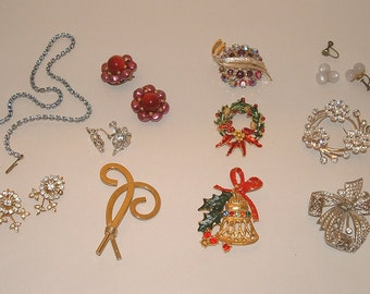 SALE Vintage Jewelry Lot for Wear, Parts, or Repair