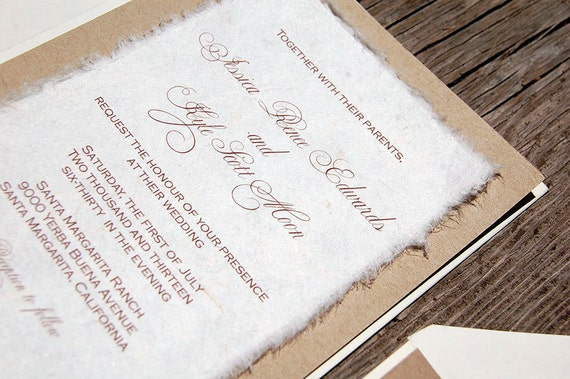 Cardstock Paper For Wedding Invitations