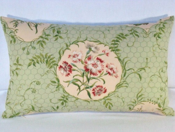 Shabby Chic Lumbar Pillows : 12X20 Decorative Accent Shabby Chic Lumbar Pillow Toss Pillow