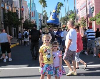 Everything Disney skirt 5t, 6, 6x, 7-ready to ship - Tinkerbell, Princess, Minnie -