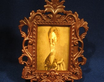 Goth, Vamipre, day of the Dead, Halloween, Lady picture / ornament