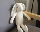 Organic fabric bunny