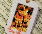 ChristmasTags Sweet Country Santa Gift Tags Set of 6