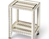 Karl Springer Style - Petite Table - Custom Made to Order