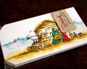 Nativity Watercolor Gift TAGS - Pack of 25