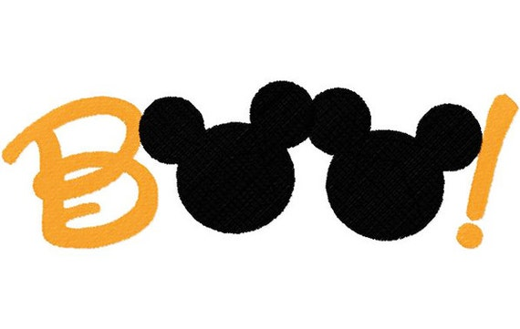 Boo Mickey Perfect for Mickey's Not So Scary Halloween Party at Disney World or Disneyland Tee Sizes 2 4 6 8 10