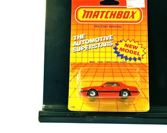 Matchbox Ford T-Bird Turbo Coupe MOC 1987