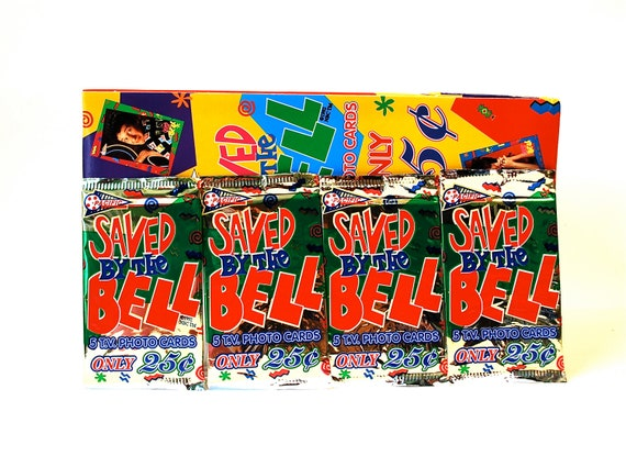 Saved By The Bell Trading Cards by Pacific Lot of 4 Packs