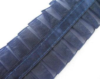 Pleated Sheer Vintage Ribbon