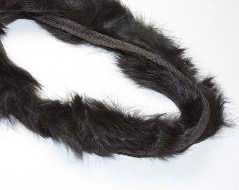 Real Fur Piping Trim