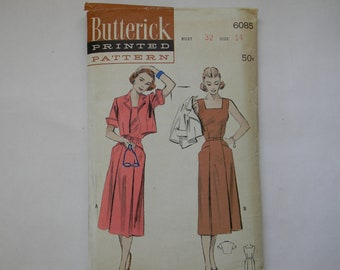 Butterick Dress Pattern 6085