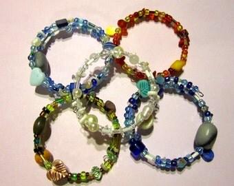 Mother Nature's Elemental Sparkle 5-Bracelet Set