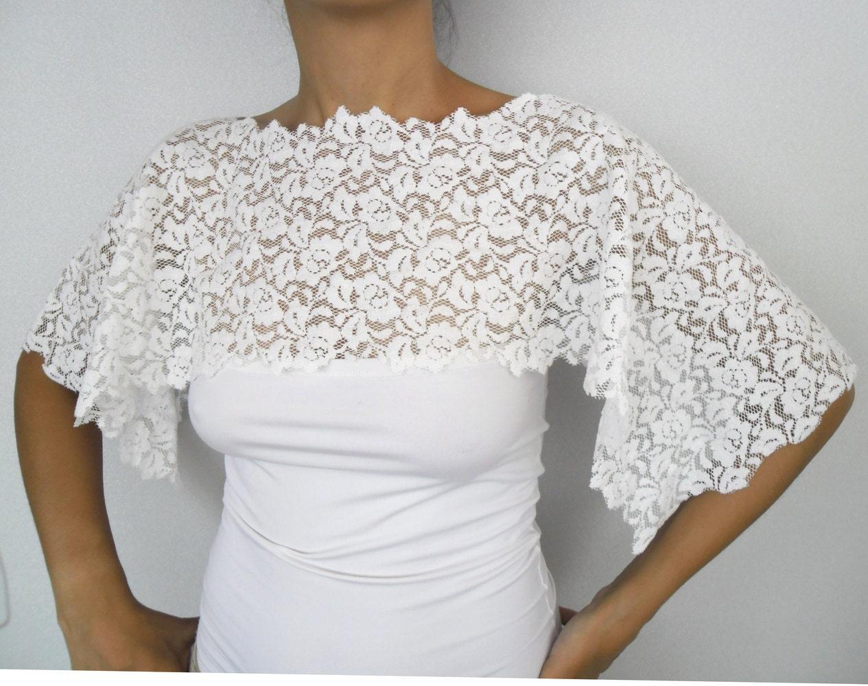 rustic wedding dress cover up bridal bolero lace by mammamiabridal