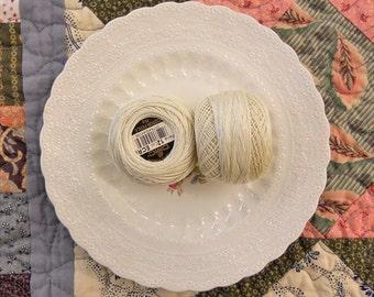 DMC Perle Cotton ball size 12 color ECRU