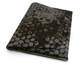 "Air Book Mac 13"" Felt Sleeve with Bubble Wrap print on Brown Felt and Grey Interior"