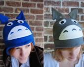 Totoro - Studio Ghibli My Neighbor Totoro Hat - Fleece Hat Adult, Teen, Kid - A winter, nerdy, geekery gift!
