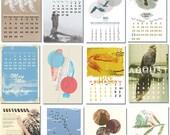 """2013 BIRD CALENDAR 8.70 x 12.75"""""""