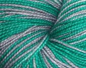 Slyther On Slytherin Self Striping Sock Yarn