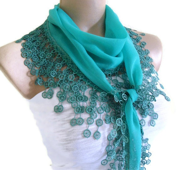 Traditional Turkish-style, Necklace scarves,Headband, scarf, Turquoise, fashion 2012, Special Fashion