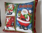 12x12 Santa Claus Accent Pillow