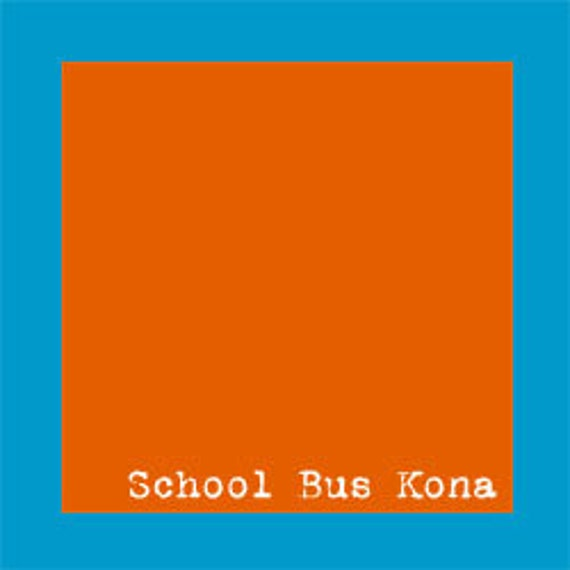 SCHOOL BUS Robert Kaufman Premium Kona - 1 yard