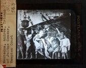 Magic Lantern Slide Triumph Of Julius Cesar By Mantegna