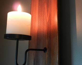 Carriage house sconce