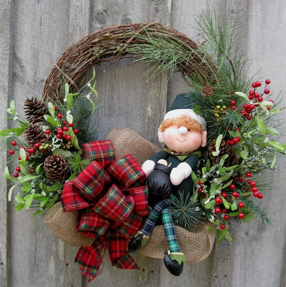 Christmas Wreath Holiday Wreath Woodland Décor Irish