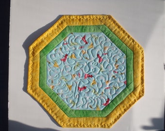 Quilted Table Topper (medium)