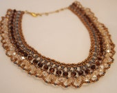 Beaded Necklace Elegant and Rich Custom Beadwork
