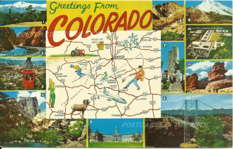 standard postcard size