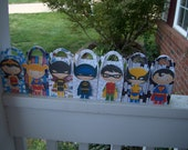 For the Girls  and Boys Superhero Gable Boxes Set of 14