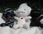 Custom Cute Crocheted Poppet Dolls for Fun, Kids, and Whimsical Uses