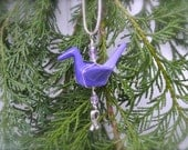 Hope Crane Ornament - Pancreatic Cancer Awareness - Station8